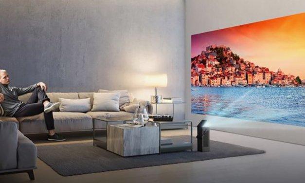 LG präsentiert seinen ersten 4K-Beamer: Ein Heimkino mit Tragegriff!
