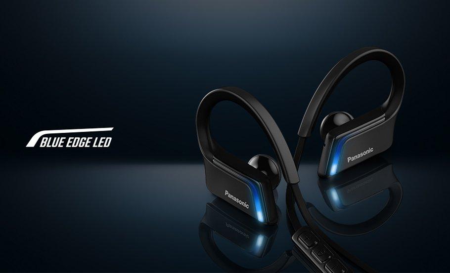 """Panasonic """"Blaulicht""""-Kopfhörer sind für Sportler maßgeschneidert"""