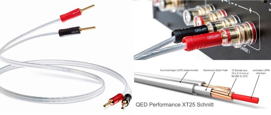 """QED Performance XT25: High-endiges Lautsprecherkabel zum """"vernünftigen"""" Preis"""