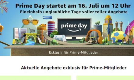 Amazon Prime Day startet am 16. Juli 2018