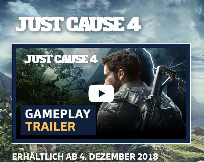 Just Cause 4: Neuer 4K-Trailer im Widescreen-Format