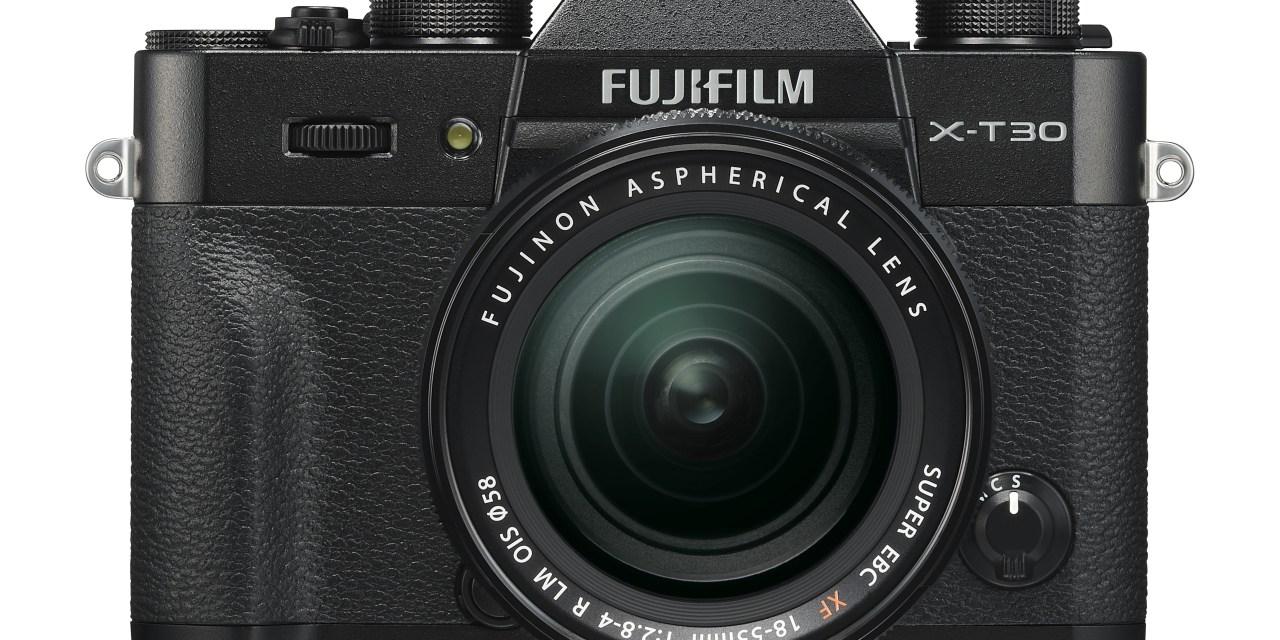 Fujifilm X-T30: Günstigere 4K-Kamera vorgestellt