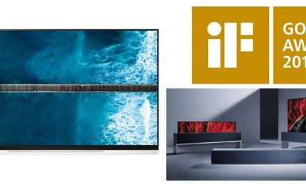 "LGs ""schwebender OLED-TV"" begeistert Jury: iF Gold Award!"