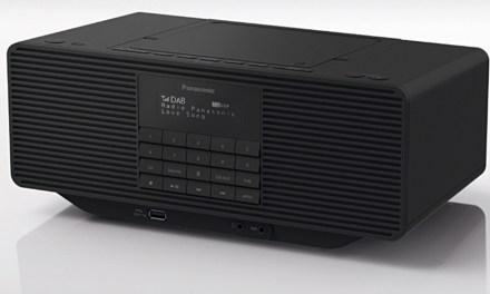 Panasonics kleines Universalgenie spielt DAB+, UKW, CD und MP3
