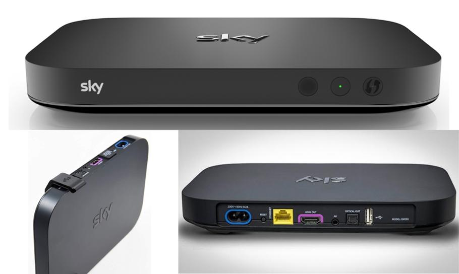 Sky Q Mini Box räumt Weg frei: Fernsehen wie und wo man will!