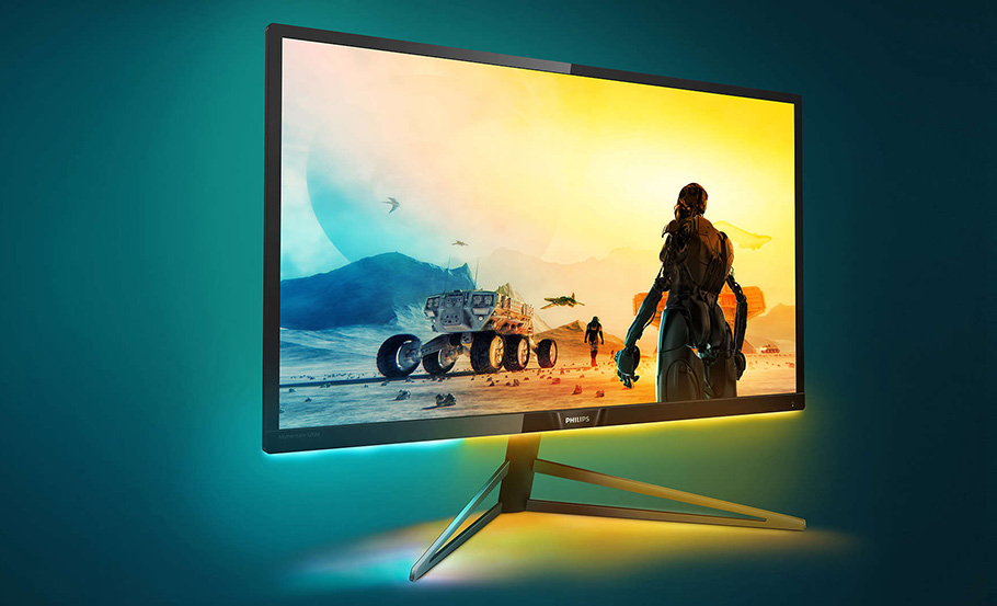 "Philips Gaming-Monitor ""pimpt"" virtuelle Welten mit Ambiglow"
