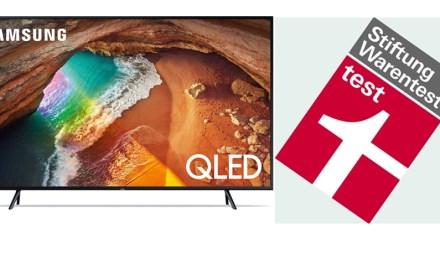 Stiftung Warentest: Tolle Bilanz für Samsungs QLED- und UHDs