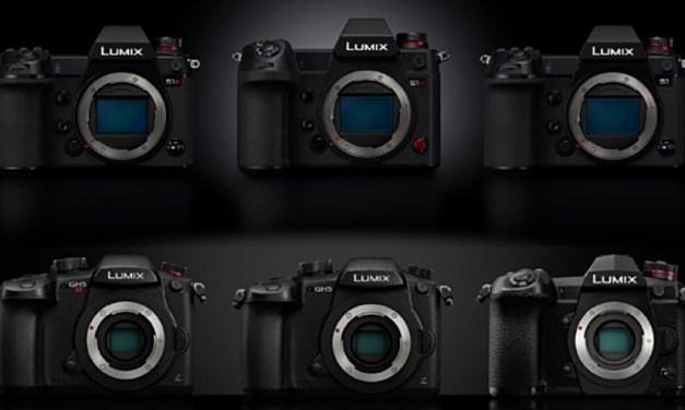 Firmware-Updates für spiegellose Lumix-Kameras von Panasonic