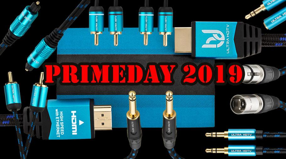 Heute im Amazon PrimeDay: Ultra HDTV Audio-Kabel