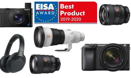 Sony sahnt Sieben EISA-Awards ab: Besonderes Lob für Augen-AF