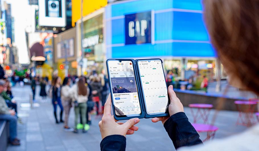 Zwei Bildschirme für alle Fälle: LG-Smartphone mit Dual-Screen