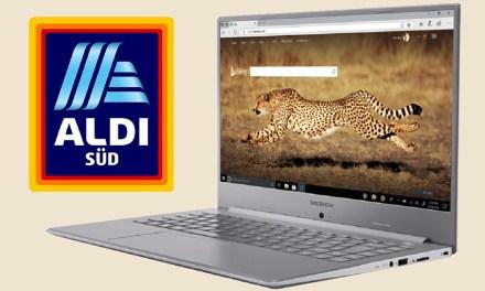 Schlankes Medion-Notebook bald in den Aldi-Süd-Filialen verfügbar