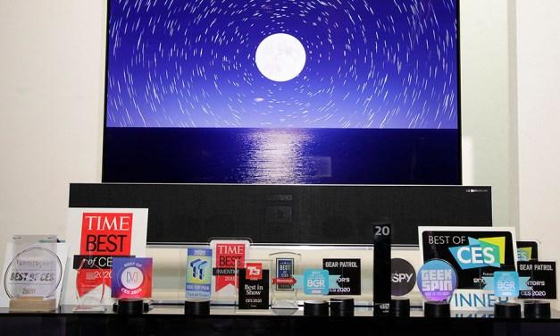 Zum sechsten Mal in Folge holt sich LG Best TV of CES-Award