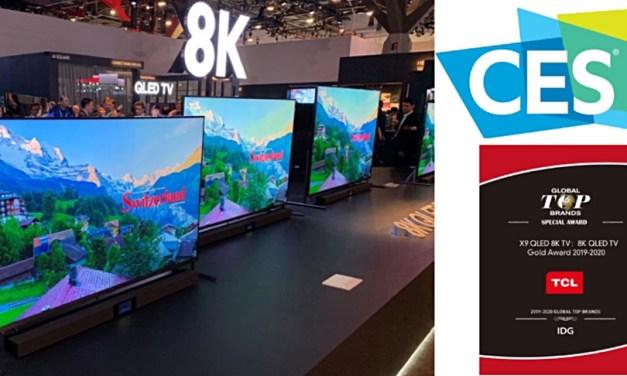 Gold Award für TCL QLED TVs: Premium-Serie X91 ausgezeichnet