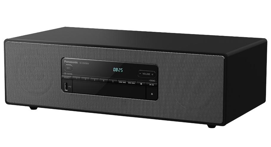Panasonic Micro-HiFi-System mit bescheidenen Leistungs-Reserven