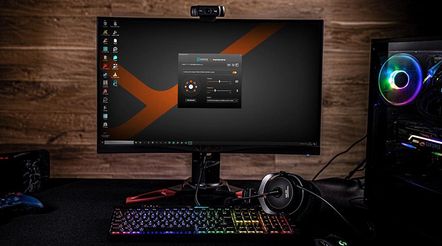 Personalisiertes Sound-Profil für beyerdynamic Gaming-Headset