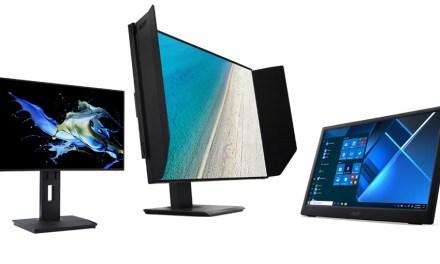 Nicht nur für das Homeoffice: Acer stellt neue Monitore vor