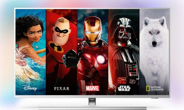 Philips rüstet Ambilight-TVs auf: Disney+ über die Startseite finden