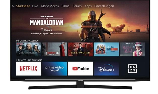 """Grundig hat Fire TV """"entdeckt"""" und preist neue Allround-Talente"""