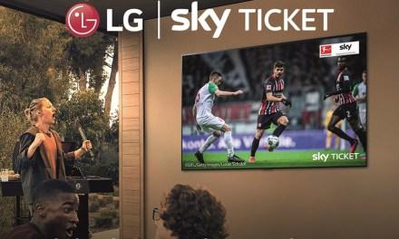 Wer jetzt neuen LG-TV kauft, sichert sich Sky Supersport-Ticket