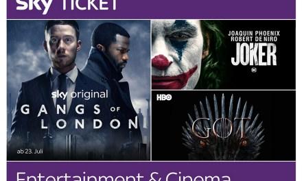 Entertainment & Cinema Ticket macht das Heimkino attraktiv