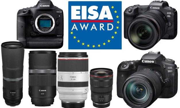 Canon freut sich über sechs prestigeträchtige Auszeichnungen