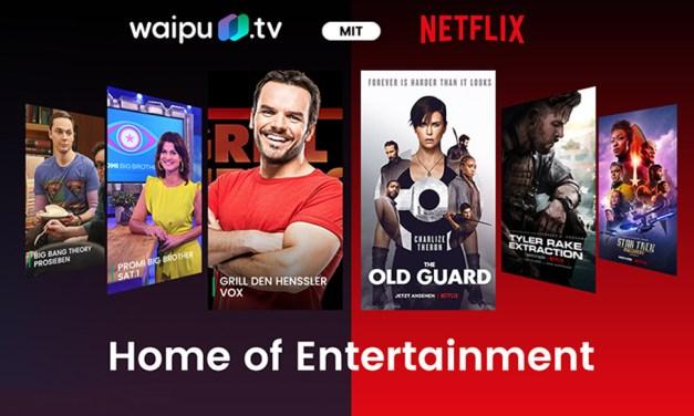 "Netflix kooperiert mit waipu.tv: ""Perfect Plus-Paket"" geschnürt"