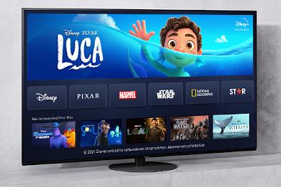 Panasonic 4K-Fernseher besitzen die Disney+ App endlich auf ihrem Home-Screen