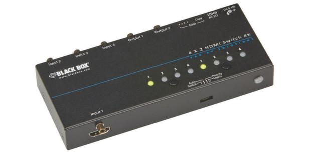 Black Box zeigt 4K-Switch mit HDMI-Anschluss