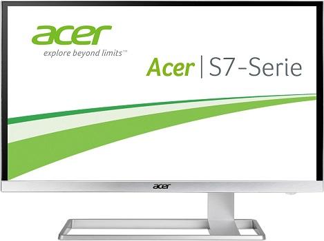 Acer S277HK: 4K Ultra HD Monitor mit 27 Zoll