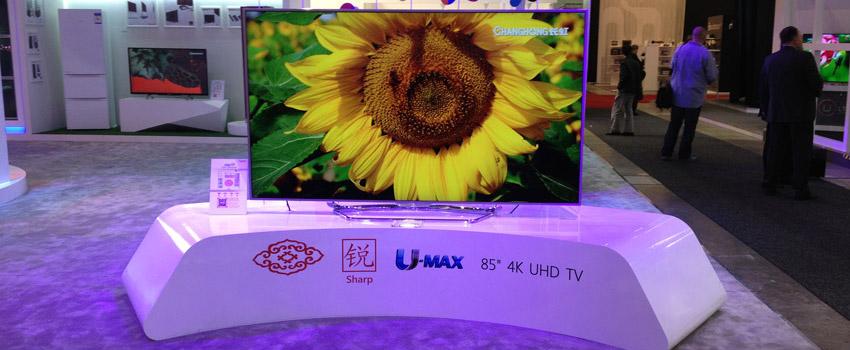 Changhong Ultra HD Fernseher auf der IFA 2013 [inkl. Eyes On Video]