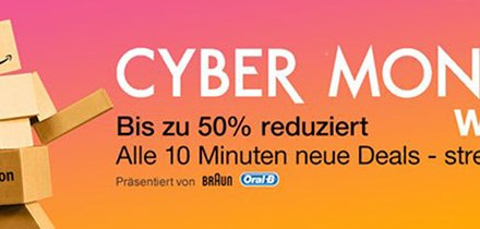 Amazon Cyber Monday Woche 26.11.2015
