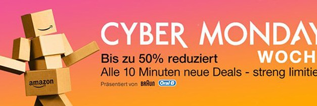 Amazon Cyber Monday Woche: 4K-Deals am 28.11.15