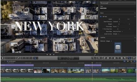Final Cut Pro X: 4K-Exportvoreinstellung für Apple-Geräte enthalten