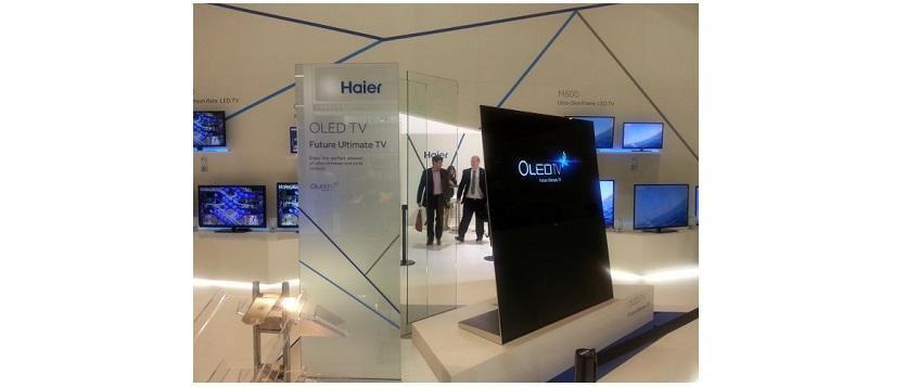 CES 2015: Neue OLED-Fernseher von Haier für Messe angekündigt