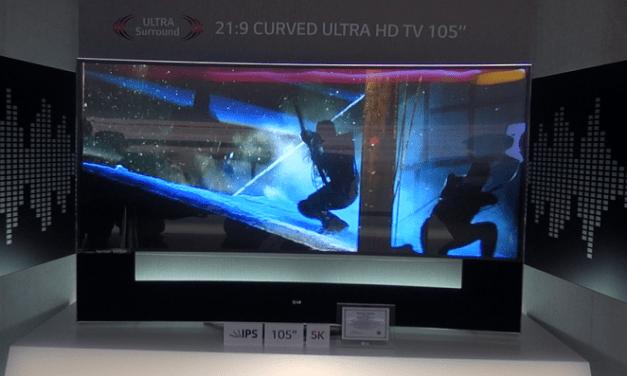 IFA 2014 – LG: 5K- und 8K-Fernseher vorgestellt