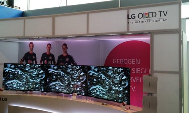 LG 55EA9709: Neuer Curved OLED TV für 6000 Euro