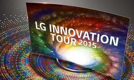 LG Innovation Tour 2015: 5K TV 105UC9 für 75.000 Euro vorgestellt