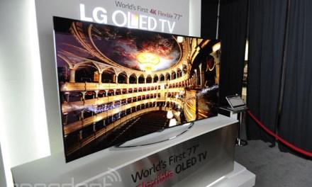 LG plant flexible und UHD OLED-TVs für 2015