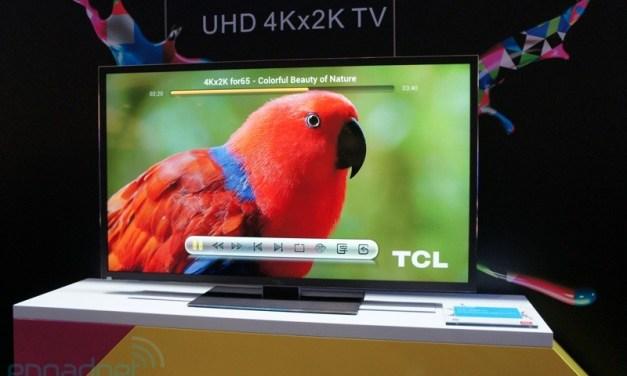 TCL stellt MoVo 4K Google TV auf der Google I/O 2013 vor