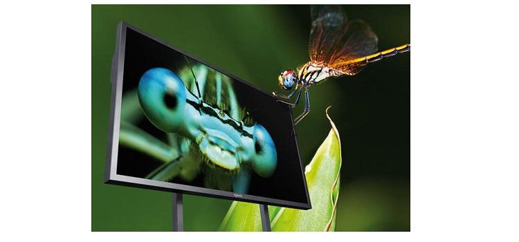 eyevis präsentiert Ultra HD-Display mit 85 Zoll auf IBC