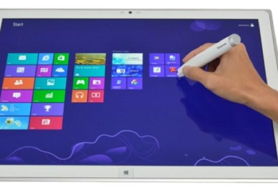 Panasonic 4K Tablet: Windows 8 Tablet mit Ultra HD Auflösung soll noch 2013 erscheinen