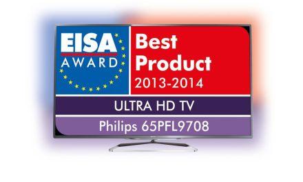 Unangekündigter Philips Ultra HD TV bekommt EISA-Auszeichnung