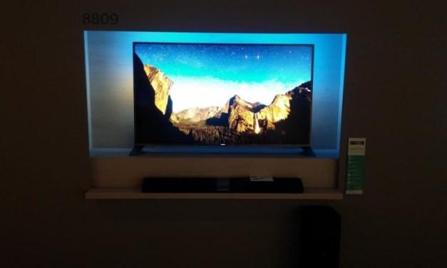 IFA 2014 – Philips: Curved-4K-TV, Ambilight und mehr