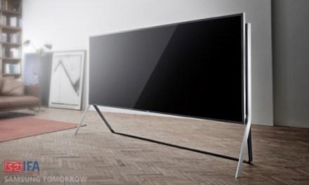 IFA 2014 – Samsung: 105 Zoll flexibler 4K-TV vorgestellt