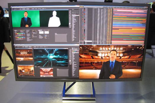 Samsung UD970: 4K-Monitor mit 99% Farbabdeckung
