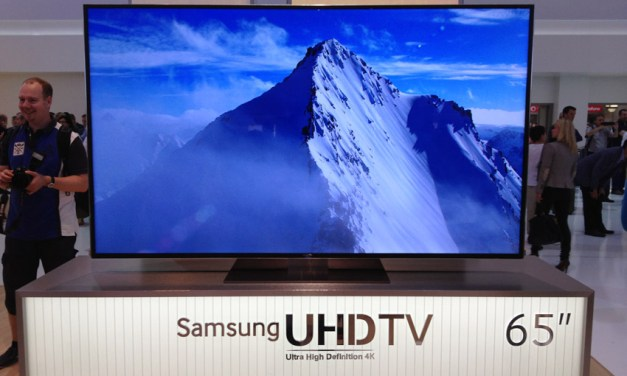 Samsung: UHD OLED Fernseher kommt Ende 2014