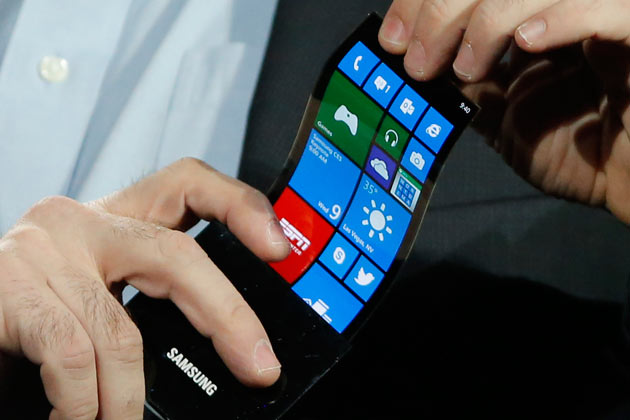 Samsung soll faltbare OLED-Displays ab Sommer 2018 produzieren