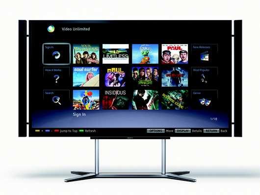 Ultra HD-Fernseher von Sony mit 55 und 65 Zoll sollen ab April/Mai ab 5.000 Euro erhältlich sein