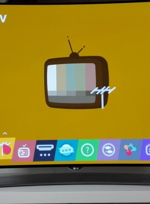 WebOS Live TV